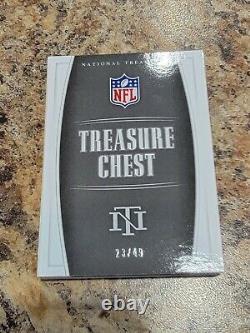 National Treasures Treasure Chest Walter Payton Joe Montana