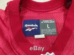 New Authentic Reebok Pro Line San Francisco 49ers Jerry Rice Jersey 50th Patch