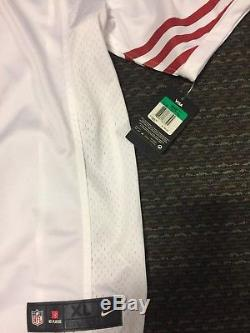 New SF 49ers Colin Kaepernick White Mens XL Limited Jersey Authentic Nike Rare