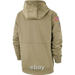 Nike 2019 NFL Limited Edition San Francisco 49ers Salute to Service Hoodie XL