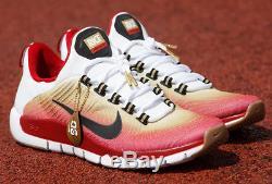 Nike Free Trainer 5.0 NRG Jerry Rice HOF San Francisco 49ers Size 12. 644682-199