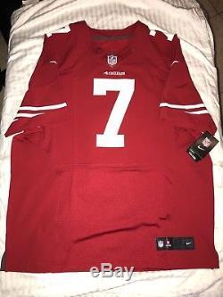 Nike NFL San Francisco 49ers Colin Kaepernick Elite Home Jersey Size 52 2XL