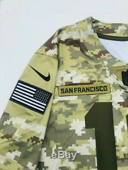 Nike SF 49ers Jimmy Garoppolo 2018 Salute to Service Limited Jersey Mens L NWT