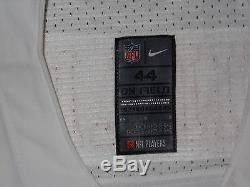 Patrick Willis San Francisco 49ers White Authentic Nike Elite Jersey sz 44 Mens