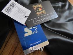 RARE San Francisco Giants Coach's Jacket Starter Black Label sz M cheetah 49ers