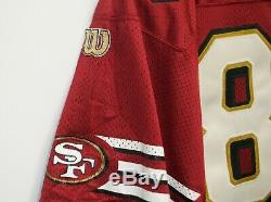 RARE VTG Jerry Rice San Fransisco 49ers Niners Authentic Wilson Jersey 48 50th