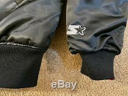 REVERSIBLE Gold/Black SF 49ers Starter Jacket MEDIUM Vintage NWOT