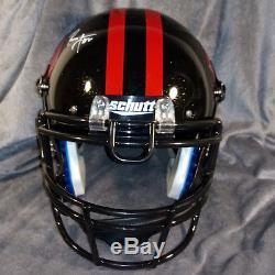 RONNIE LOTT signed SAN FRANCISCO 49ERS full size helmet JSA coa fs gold flakes