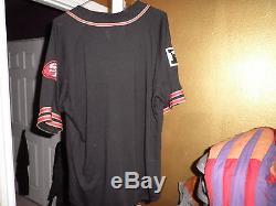 Rare San Francisco 49ers Throwback Felt Starter Jersey Medium Nice