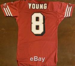 Rare Vintage 1996 Reebok Pro Line NFL San Francisco 49ers Steve Young Jersey