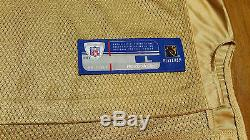 Rare! XL Frank Gore San Francisco SF 49ers Niners Authentic Gold Reebok Jersey