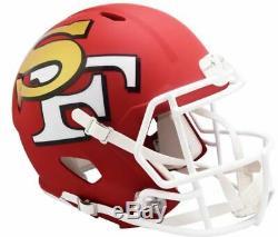 Riddell 49ers Alternate Amp Revolutions Full Size Speed Replica Helmet