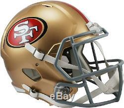 Riddell San Francisco 49ers Revolution Speed Full-Size Replica Football Helmet