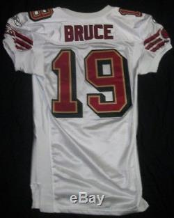 SAN FRANCISCO 49ERS Arland Bruce game used/worn Rookie Jersey 2003