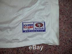 San Francisco 49ers Game Jersey Vintage Jerry Rice Team Issue Jersey 1997 49ers