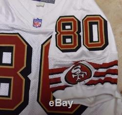 San Francisco 49ers Game Jersey Vintage Jerry Rice Team Issue Jersey 1997 52