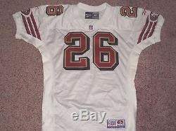 San Francisco 49ers Game Jersey Vintage Rod Woodson Team Issue Jersey 1997 49ers