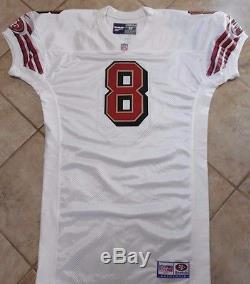 San Francisco 49ers Game Jersey Vintage Steve Young Team Issue Jersey 1997 52