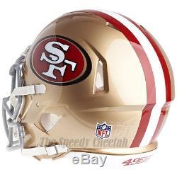 San Francisco 49ers Riddell NFL Full Size Authentic Speed Football Helmet