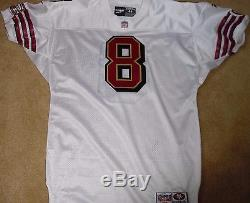 San Francisco 49ers Steve Young Vintage Authentic 1998 Game Jersey Team Issued