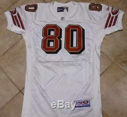 San Francisco 49ers Vintage Authentic Team Issued Game Jersey Jerry Rice 1998 50