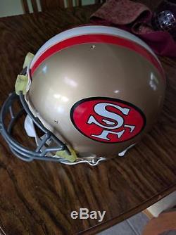 SAN FRANCISCO 49ers NFL Football Helmet
