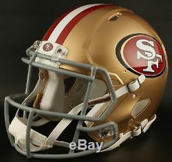 SAN FRANCISCO 49ers NFL Riddell SPEED Full Size Replica Football Helmet