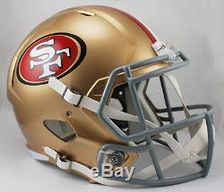 SAN FRANCISCO 49ers NFL Riddell Speed Full Size Replica Football Helmet