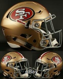 SAN FRANCISCO 49ers NFL Riddell SpeedFlex Full Size Authentic Football Helmet