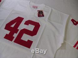 SAN FRANCISCO 49ers RONNIE LOTT Mitchell & Ness Throwback AWAY Jersey sz 52 2XL