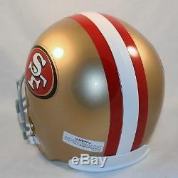 SAN FRANCISCO 49ers Riddell VSR4 Deluxe Replica Helmet