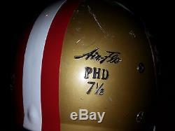 SAN FRANCISCO 49ers THROWBACK VINTAGE Alternate Rawlings FOOTBALL HELMET(7 1/2)