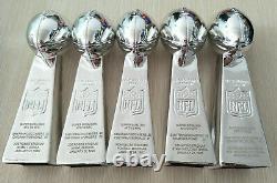 SET 5 PCS TROPHY San Francisco 49ers SUPER BOWL CHAMPIONSHIP LOMBARDI GIFT FANS