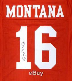 Sale! San Francisco 49ers Joe Montana Autographed Signed Red Jersey Tristar
