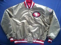 San Francisco 49ERS Vintage Starter Pro Line Jacket XL Satin