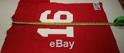 San Francisco 49ers #16 Joe Montana VTG/NWT Champion NFL Jersey Size Large