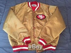 San Francisco 49ers Jacket Satin Vtg 80s 2xl Xxl