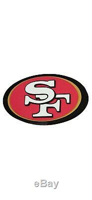 San Francisco 49ers NFL 3D Fan Chain Necklace Foam Magnet (Gold Chain)