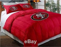 San Francisco 49ers NFL Twin/Full Comforter Pillow Sham Set