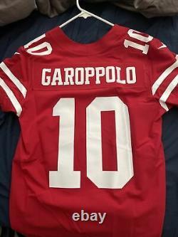 San Francisco 49ers Nike Vapor Elite Authentic Jersey Jimmy Garoppolo Size 40