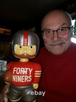 San Francisco 49ers Promo Doll 1960 Bobblehead Bobbing Head Nodder