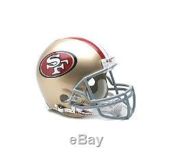 San Francisco 49ers Riddell NFL Football Authentic Pro Line Full Size Helmet