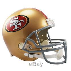 San Francisco 49ers Riddell Vsr4 NFL Full Size Replica Football Helmet