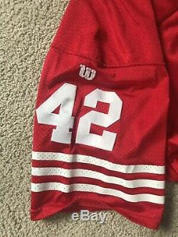 San Francisco 49ers Ronnie Lott Jersey Wilson Size 52