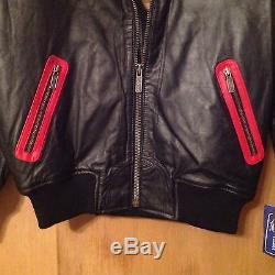 San Francisco 49ers Starter Leather Jacket -Brand New- Large