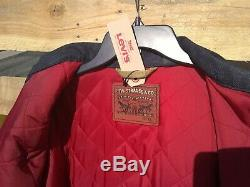 San Francisco 49ers Team NFL Levi Varsity Trucker Jacket Mens LMTD Quantity NWT
