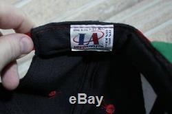 San Francisco 49ers VTG NFL Pro Line Logo Athletic Sharktooth Snapback Hat Cap