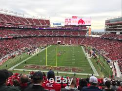 San Francisco 49ers vs Los Angeles Rams Dec 21, 2019 Sec 202 2 Tickets
