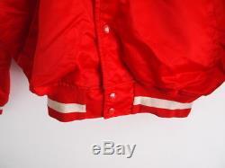 Starter Pro Line Size XL Red Vintage Montana Era San Francisco 49ers Jacket