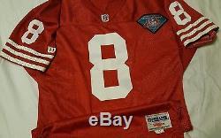 Steve Young 1994 San Francisco 49ers Niners Wilson Authentic Auto'd Jersey Sz 44